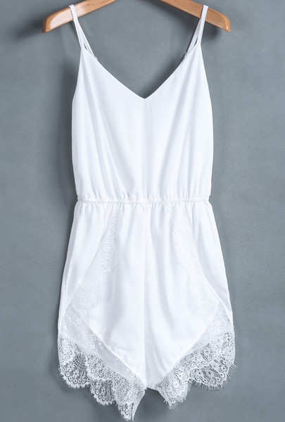 Lacia Overlay Playsuit   Outfit Made