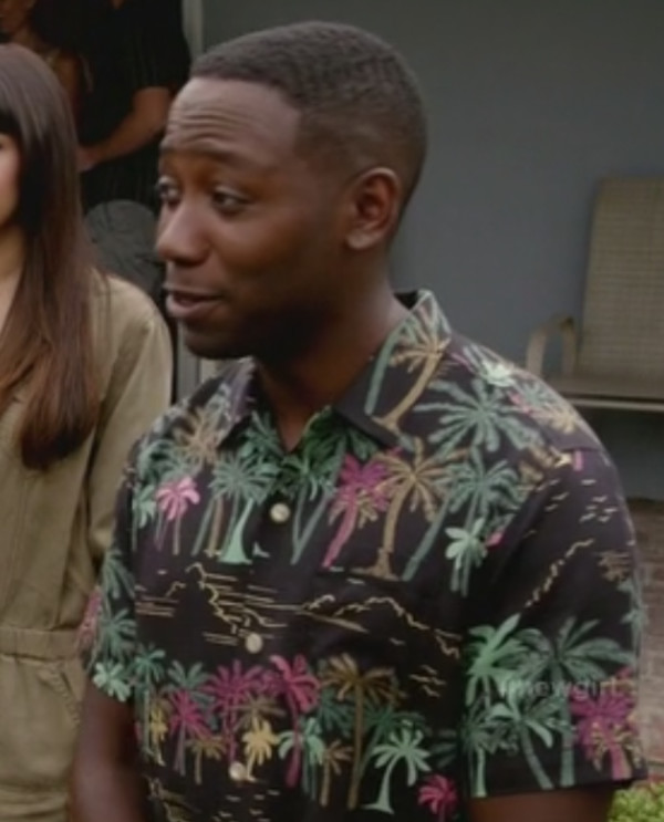 new girl man shirt lamorne morris shirt
