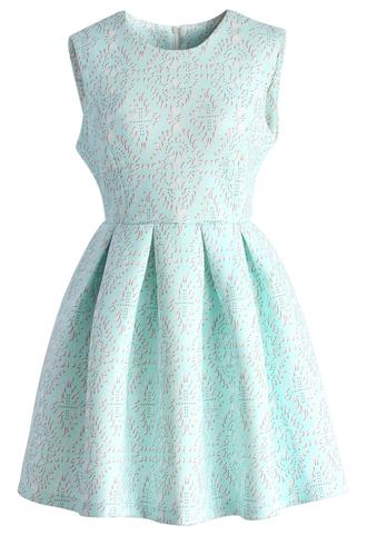 dress baby blue airy baroque skater dress chicwish baby blue skater dress baroque dress