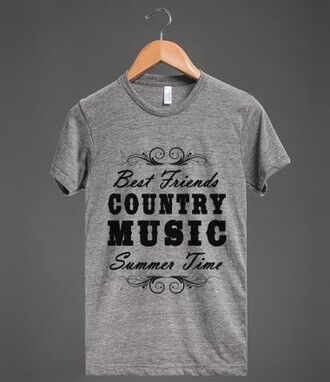 t-shirt bff country music country summer summertime summer time