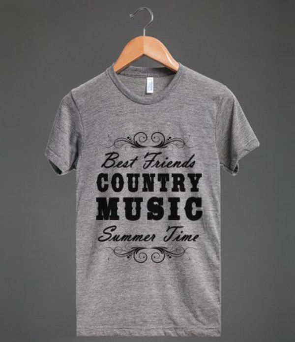 t-shirt bff country music country summer summertime summer time bff t-shirt t-shirt