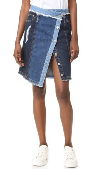 skirt denim skirt denim dark blue dark blue