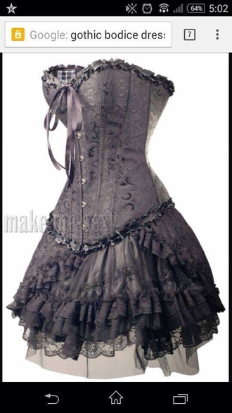 dress black dress corset dress corset gothic dress gothic goth dress goth pretty