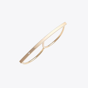 jewels,gold ring,minimalist ring,minimalist jewelry,double finger ring