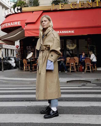 coat camel coat trench coat black shoes tumblr camel camel long coat long coat shoes