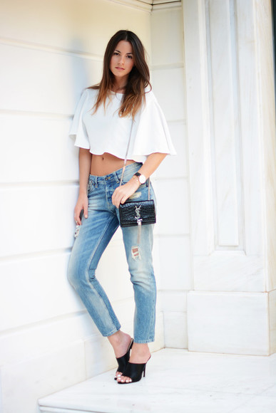 top fashion vibe jeans bag jewels