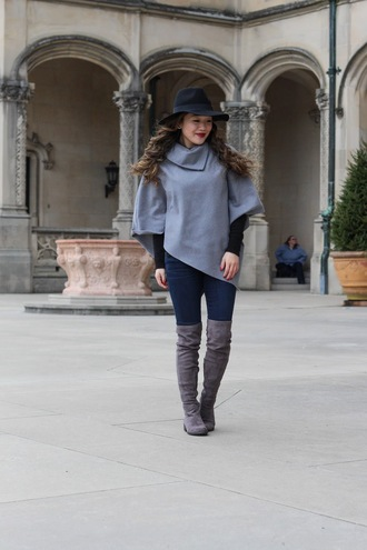 gracefullee made blogger bag jeans sweater make-up hat