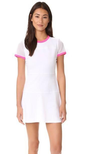 Monreal London Club Tennis Dress - White