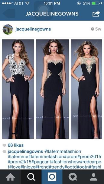 dress black dress gold sequins bodycon dress