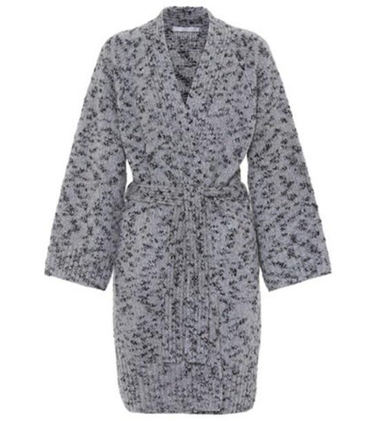 cardigan cardigan wool grey sweater
