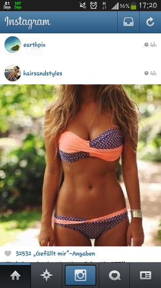 swimwear blue swimwear orange swimwear orange coral bikini purple dotted bandeau bikini twisted bikini