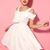 White Mini Dress - White Bow Sexy Strapless Dress | UsTrendy