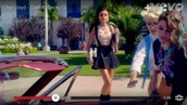 skirt,cher lloyd,top,crop tops,lace,white,sweetheart neckline,strapless
