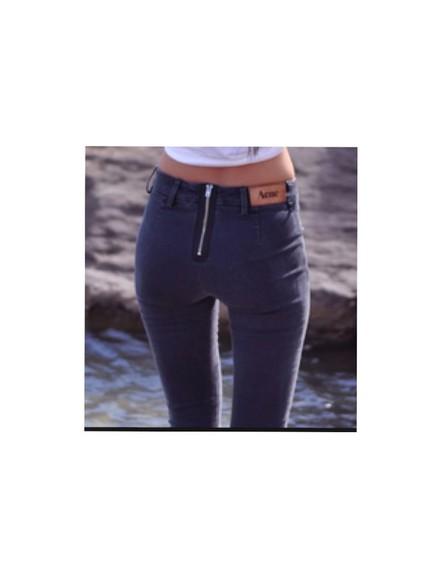 jeans zip denim nice skinny pants