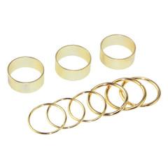 GOLD RINGS SET / back order – HolyPink