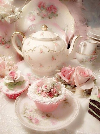 home accessory vintage floral cute shabby chic teacup romantic classy