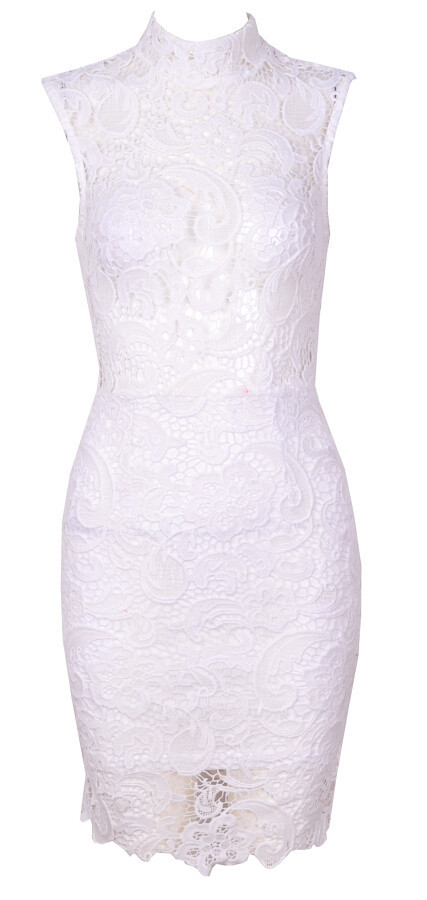 Olympia lace dress