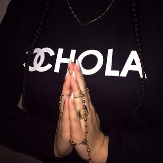 t-shirt chola chanel t-shirt