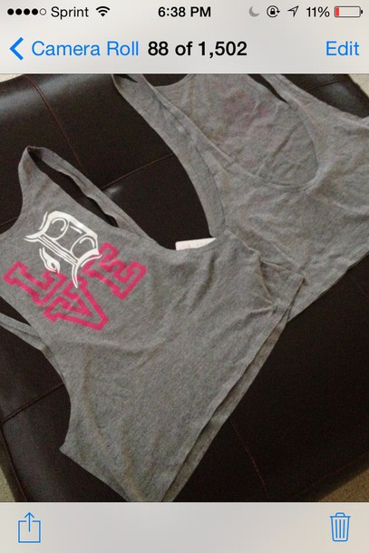 tank top girly detroit detroit city t-shirt