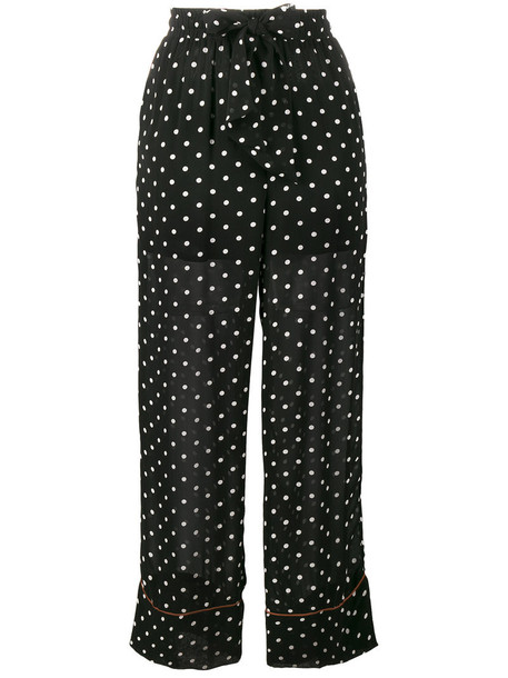 Ganni women black pants