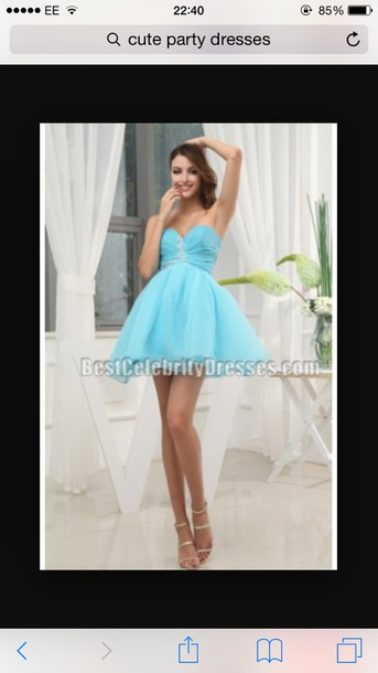 dress turquoise dress sparkly dress