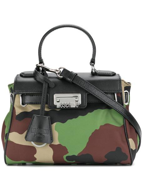 Moschino Vintage women camouflage bag shoulder bag green