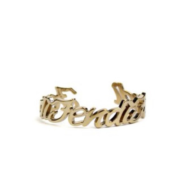 jewels bracelets fendi signature
