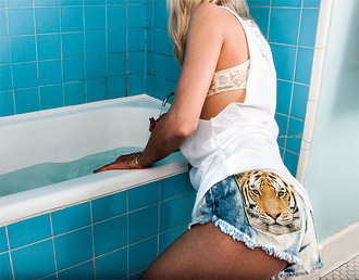 shorts girly white blue black cats tiger sexy high waisted shorts cut off shorts high waisted denim shorts denim leopard print summer summer outfits clothes tumblr clothes tumblr fashion instagram style fashion music festival spring outfits