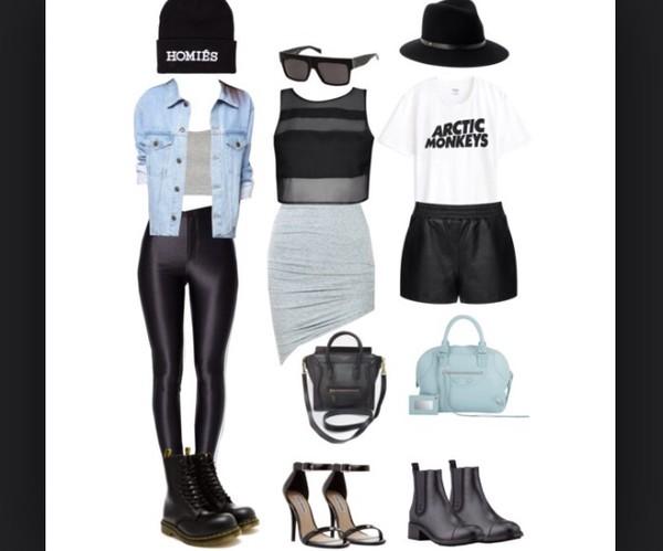 leggings tumblr msftsrep hipster shoes bag sunglasses sweater hat dress