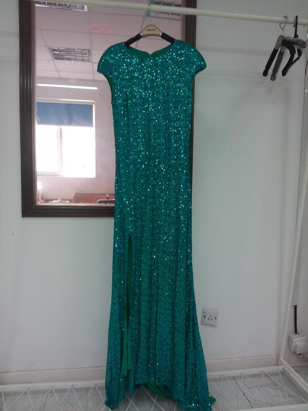 prom dress evening dress sequin dress dress