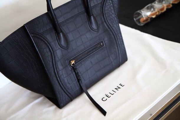 bag celine bag black bag snake print