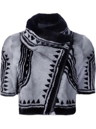 jacket cropped jacket cropped black