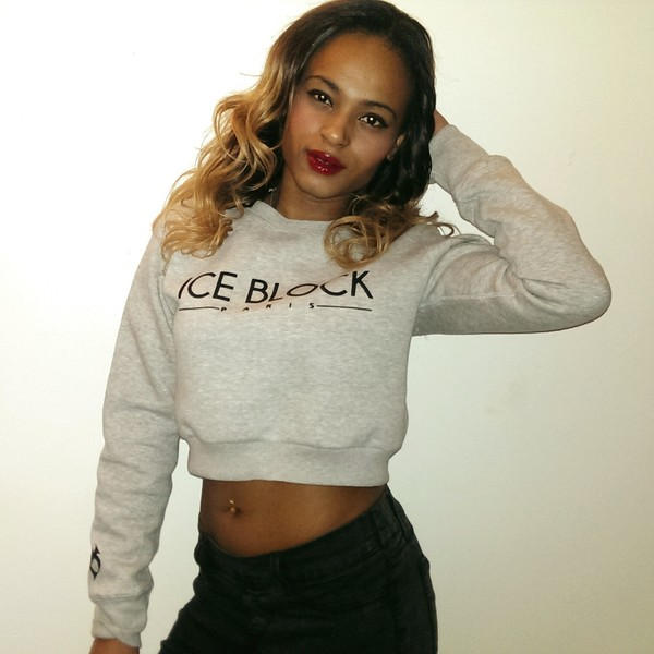 sweater crop tops sweater grey wedges grey fluffy cool 90s style goth pastel goth
