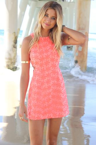 dress ustrendy dress ustrendy summer dress summer coral dress coral floral jewels