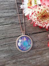 jewels,the glitzy hen,druzy,druzy necklace,opal,opal necklace,fire opal,blue opal,rose gold,boho,hippie,fashion jewelry