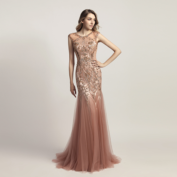 dress lace beaded dress