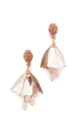 mini earrings rose gold rose gold jewels