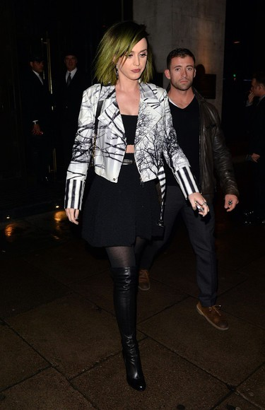 katy perry skirt top jacket
