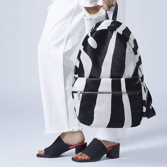 bag zebra print