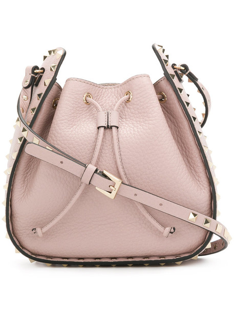Valentino women bag shoulder bag leather nude