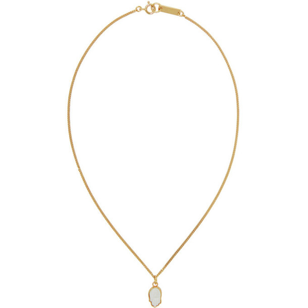 Isabel Marant Gold It's All Right Necklace