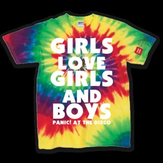 tie dye panic! at the disco