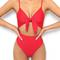 Buy our pretty thing one piece in red online today! - tiger mist