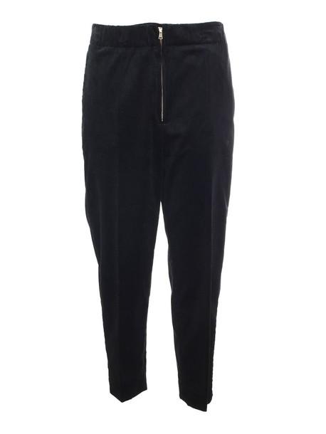 pants zip black