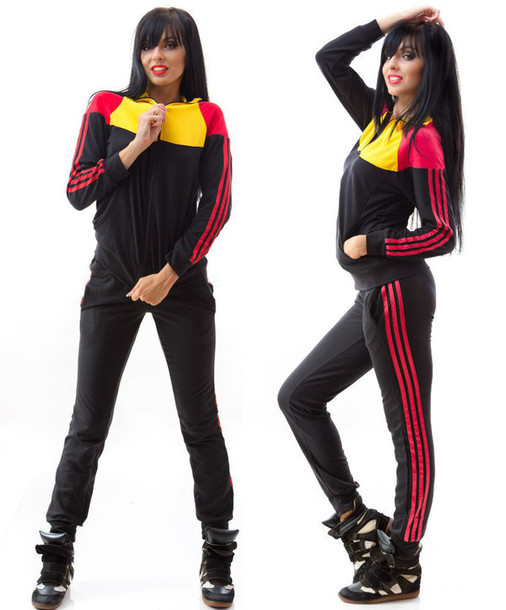 Jumpsuit Zefinka Sweatshirt Sweatpants Pants Skinny Pants