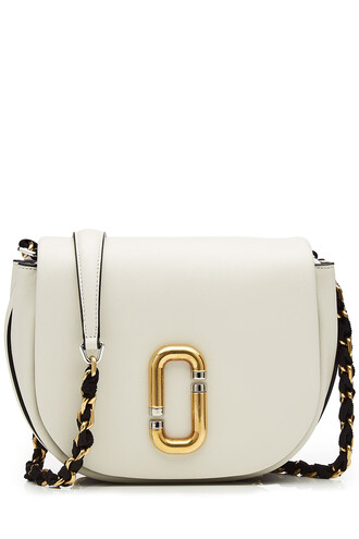 cross bag leather white
