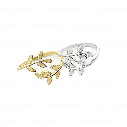 [EUR € 2.87] - Feuille anneau ouvert (couleurs assorties)
