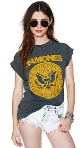 t-shirt,ramones
