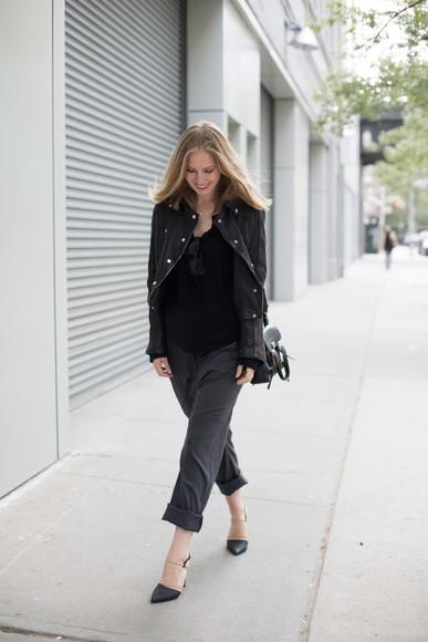 fashion squad pants shoes jacket sunglasses shirt bag