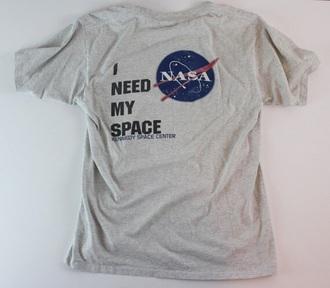 t-shirt i need my space nasa space nasa shirt space shirt grey kennedy space center i need my space shirt nasa tshirt shirt